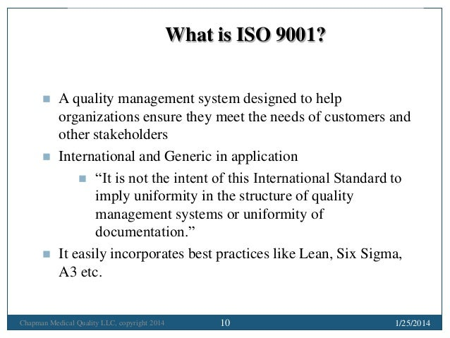 Making ISO 9001 Based Hospital Accreditation Really Work - Some Pract…