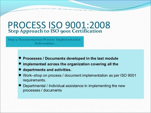 iso certification process in india pdf