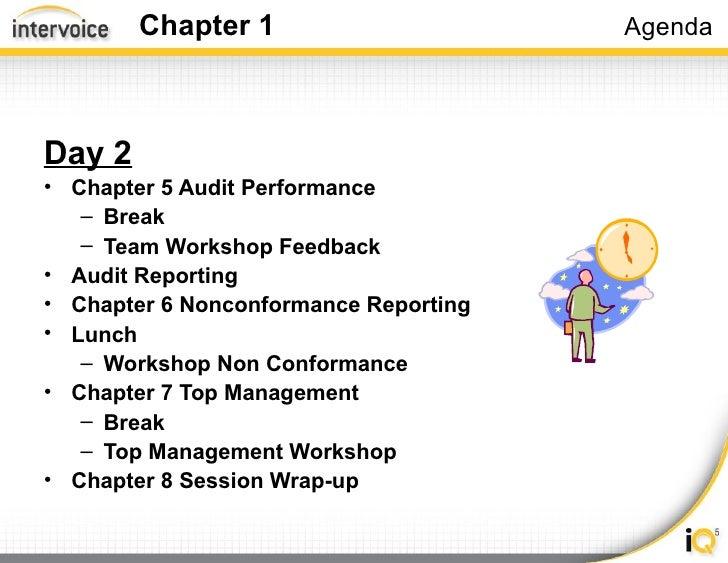 Iso Process Audit Training Slide 3