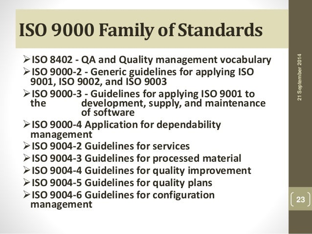 "Презентация на тему: ""Overview of Quality Management Systems and ..."