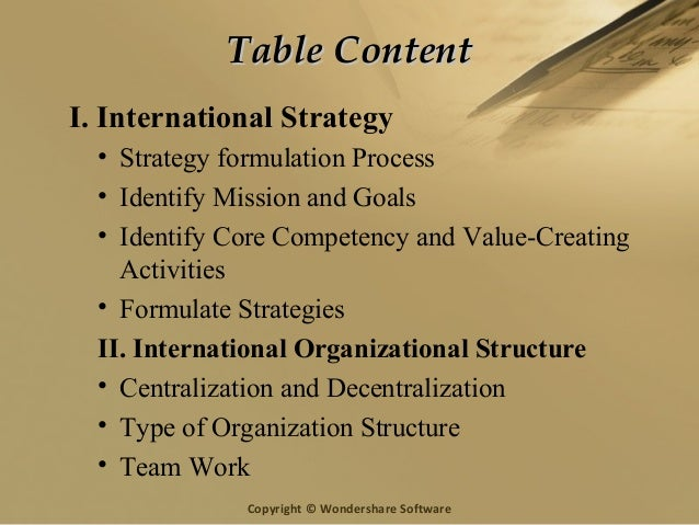 effect of strategy and organizational structure Strategy, organizational structure and activity-based costing 107 the value of those outputs may be removed, replaced or diminished.