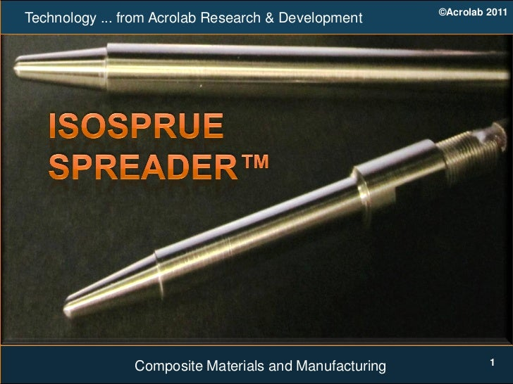 ©Acrolab 2011Technology ... from Acrolab Research & Development                                                           ...