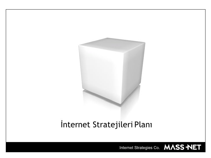 İnternet Stratejileri Planı Internet Strategies Co.