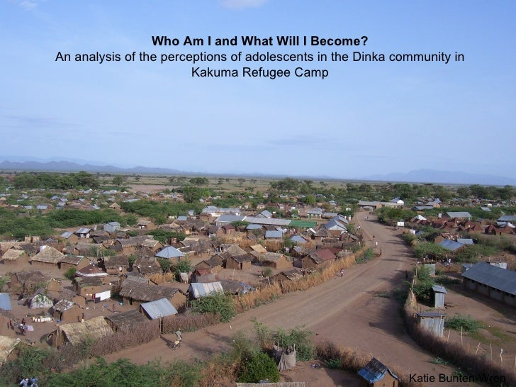 Who Am I and What Will I Become? An analysis of the perceptions of adolescents in the Dinka community in Kakuma Refugee Ca...