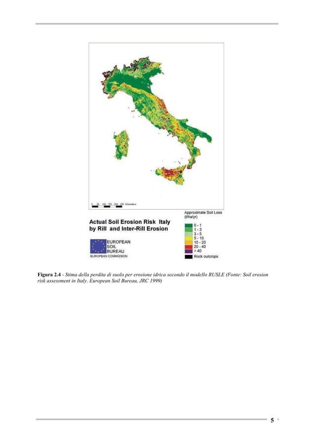 A titolo di esempio si riportano i dati relativi alle aree terrazzate censite dal Progetto ALPTER nell'arco alpino. Tabell...