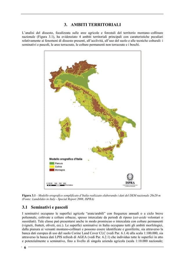 Figura 3.5 - Schema di terrazzamento (Fonte: La gestione delle sistemazioni idraulico-agrarie nel Monte Pisano, Scuola Sup...