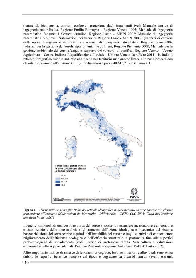 boschive (ceduo, fustaia, ecc.) risultanti dall'Inventario e sulle percentuali di superfici stimate da INFC con problemati...