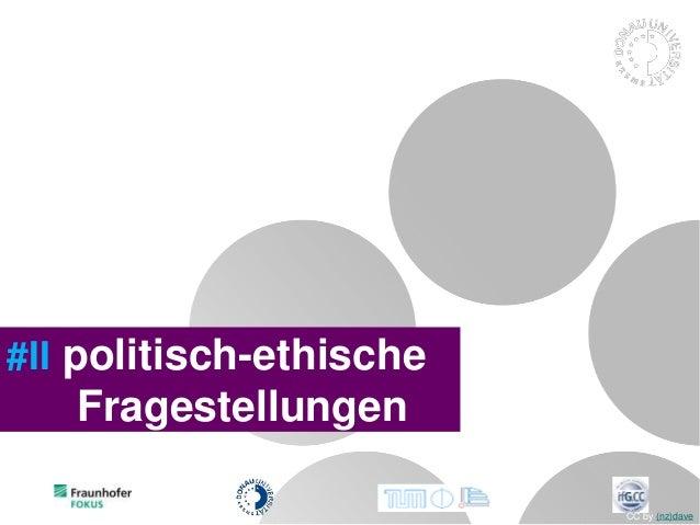 #II politisch-ethische Fragestellungen CC by (nz)dave