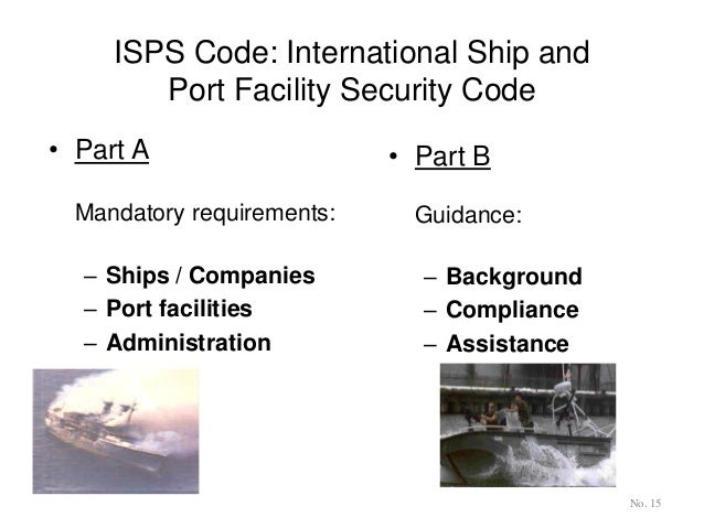 Thesis on the implementation of the isps code