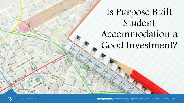 Is Purpose Built Student Accommodation a Good Investment? Sterling Woodrow, New North House, Ongar Road, Brentwood, CM15 9...