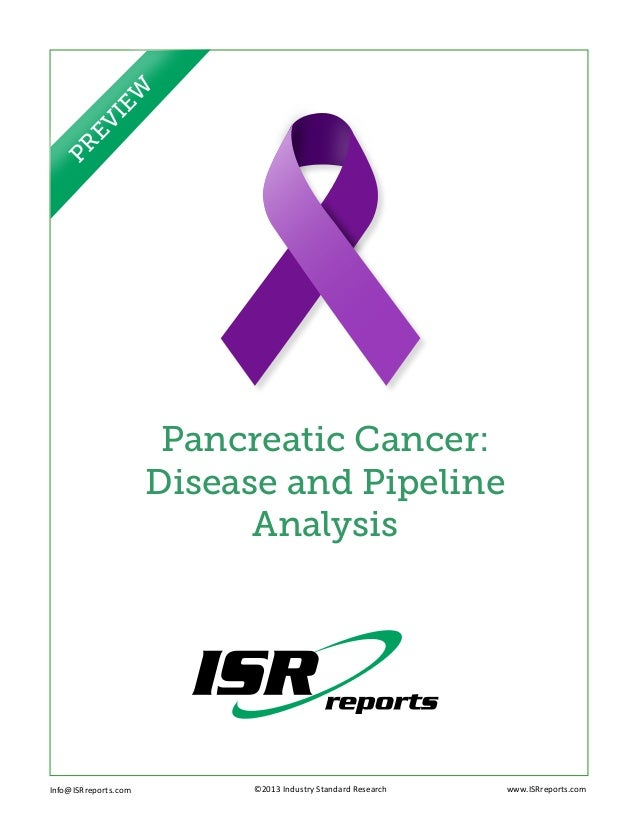 I  EW   EV PR               Pancreatic Cancer:              Disease and Pipeline                    AnalysisInfo@ISRreport...