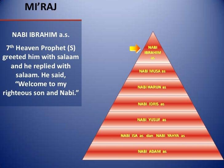 Isra' and mi'raj