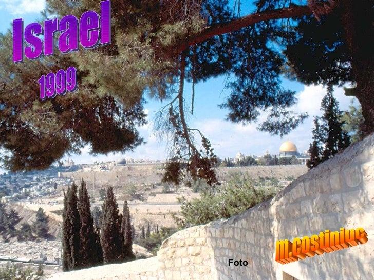 Israel 1999 Foto m.costiniuc