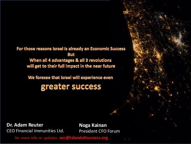 Israel - island of success 2017