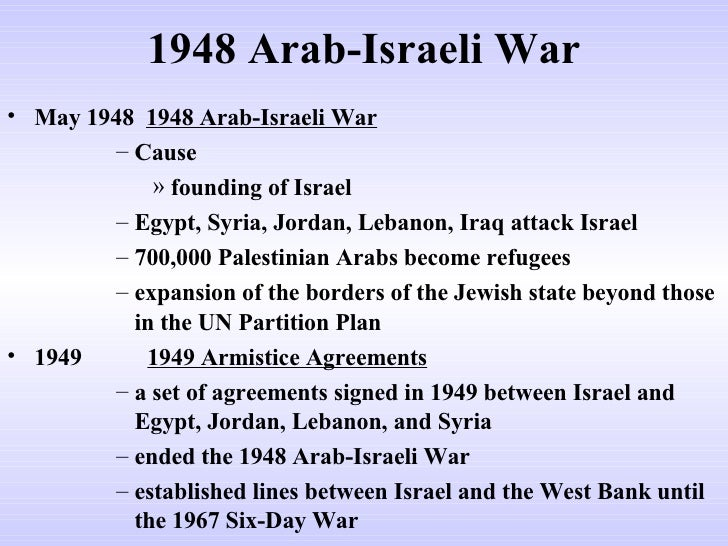 arab and jewish conflict causes This separation of the blessing is crucial to the understanding of the modern-day arab-israeli conflict  when the jewish state was born in 1948, five arab.