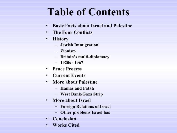 Israel Palestine crisis  Slide 2