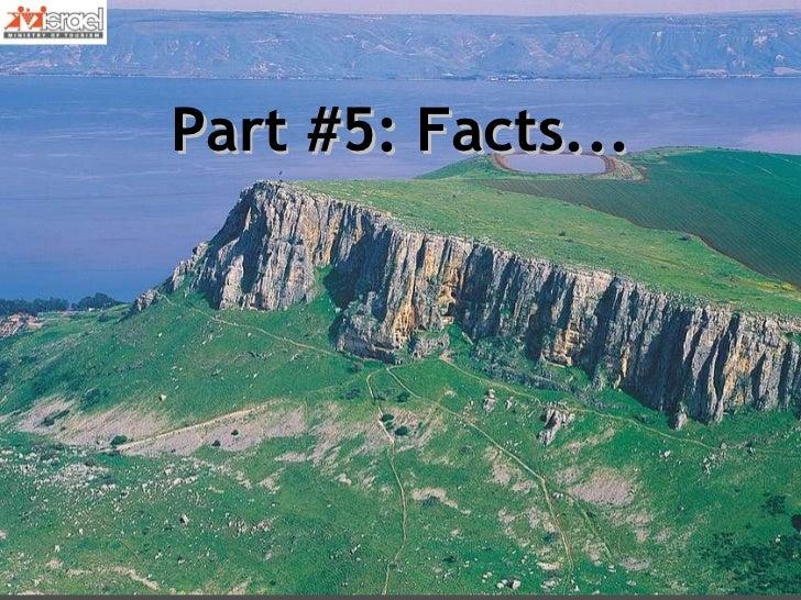 Part #5: Facts...