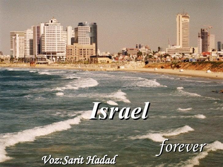 Israel   forever Voz: Sarit Hadad