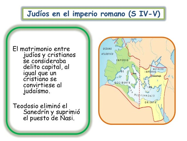 Matrimonio Imperio Romano : Historia de las comunidades judías durante edades