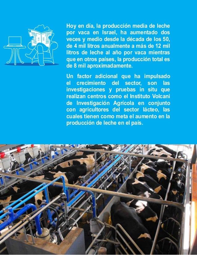 Por qué las vacas son  e n I s r a el  más felices  La producción de leche y la calidad está  directamente relacionada con...