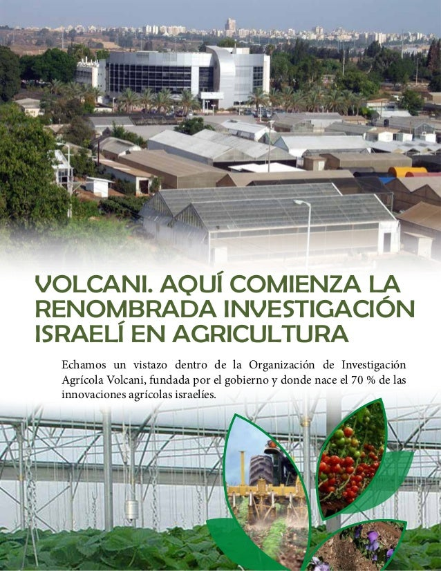 Por Rivka Borochov  Cuando nos encontramos con una innovación israelí en  agricultura, existe una gran posibilidad que esa...
