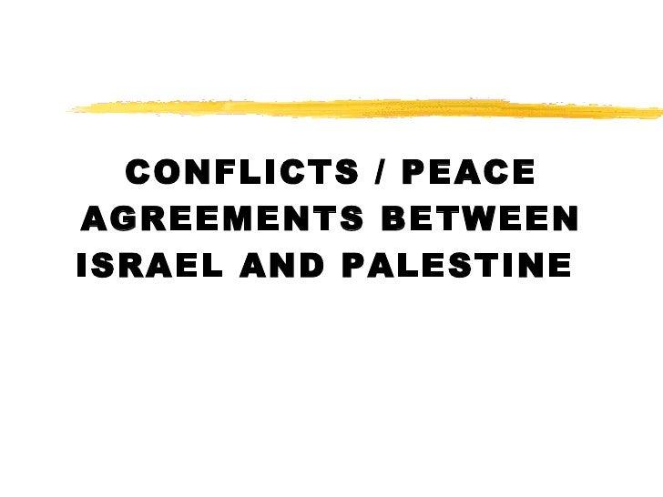 Israeli Palestinian Conflict Student Version