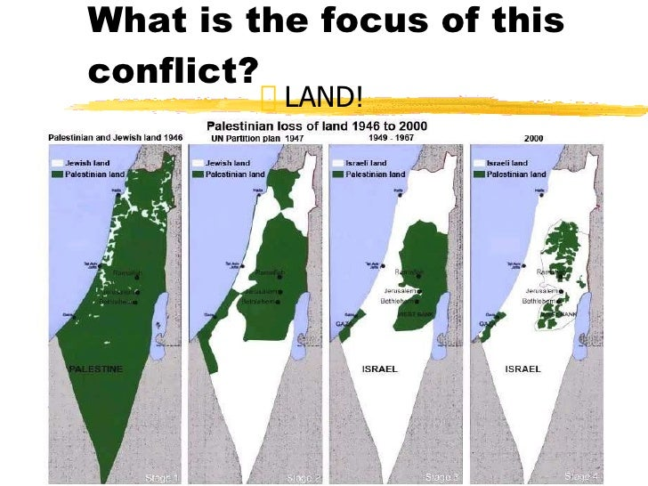 israel and palestine issues essay The israeli-palestinian conflict the palestinian-israeli conflict and be able to identify and discuss the major events and themes that have led to its current impasse, the different competing narratives on certain events reflection papers (30%.