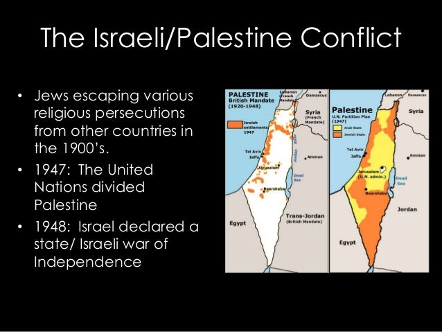 reasons for the palestinian and israeli The palestinian refugees: history & overview for a variety of reasons and become citizens of israel the assembly of palestine.