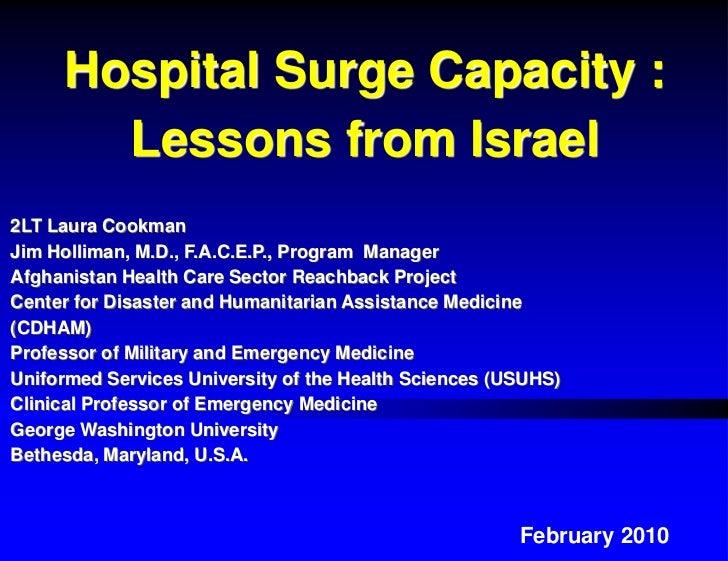 Israel surge capacity feb 2010 (3)