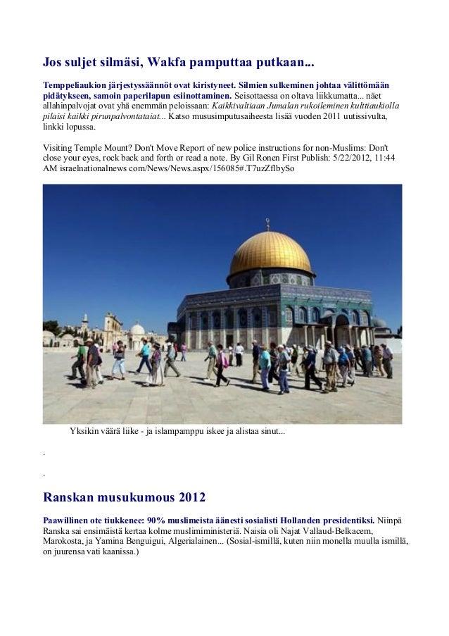 Israel uutiset 2012 ... ykkösosa