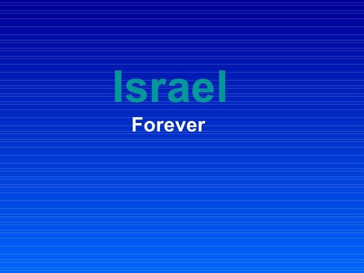 Israel   Forever