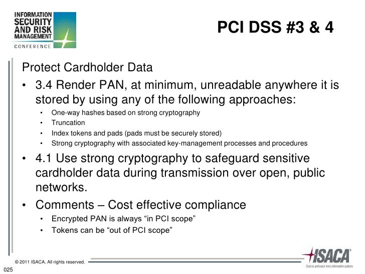Risk Management Practices for PCI DSS 2.0