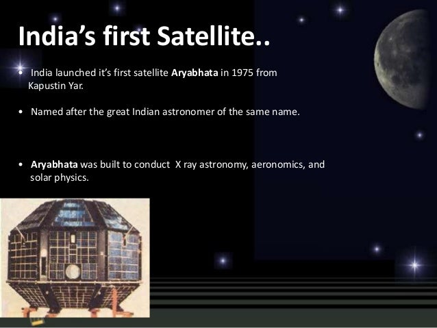 Trivandrum 7 Indias First Satellite