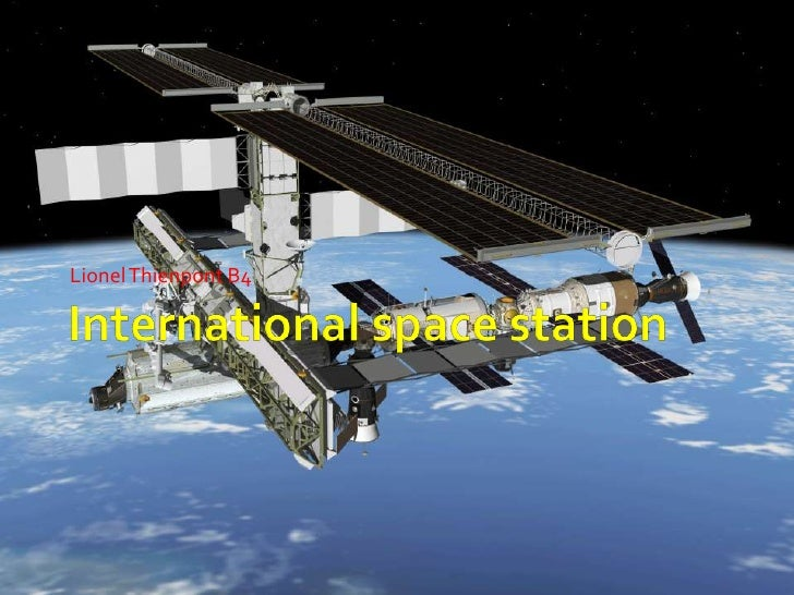 International space station<br />LionelThienpont B4 <br />