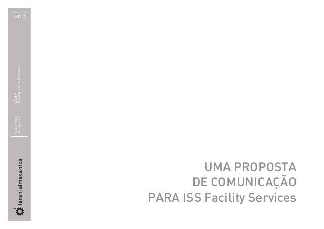 Fevereiro2012NOVA IDENTIDADECCHPProjecto:Cliente:                           UMA PROPOSTA                         DE COMUNI...