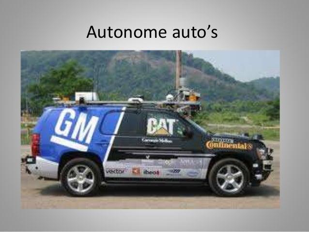 Autonome auto's