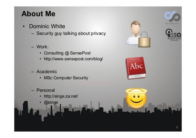 Online Privacy, the next Battleground Slide 2
