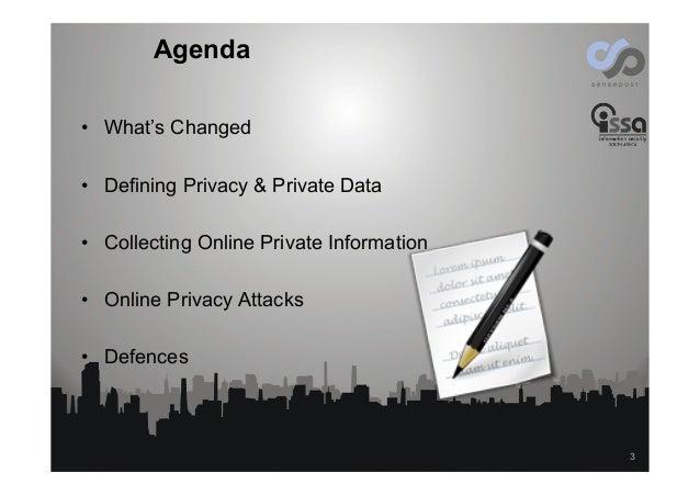 Online Privacy, the next Battleground Slide 3