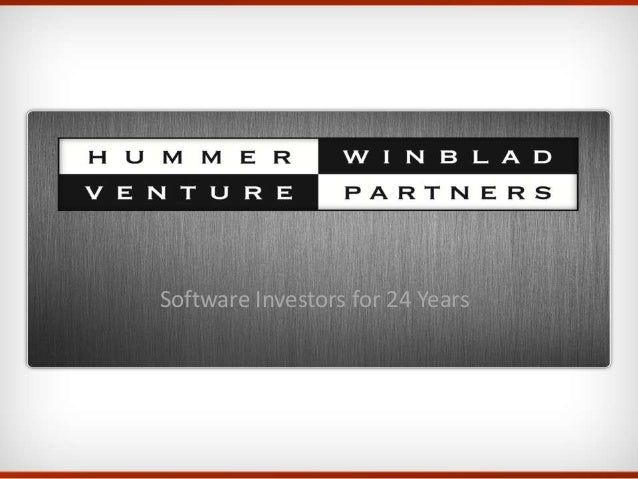 Software Investors for 24 Years
