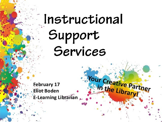 Instructional Support Services Overview