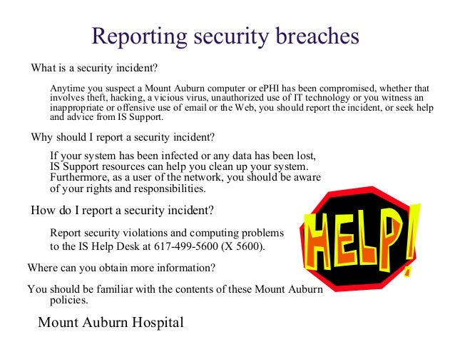 information security awareness training by mount auburn