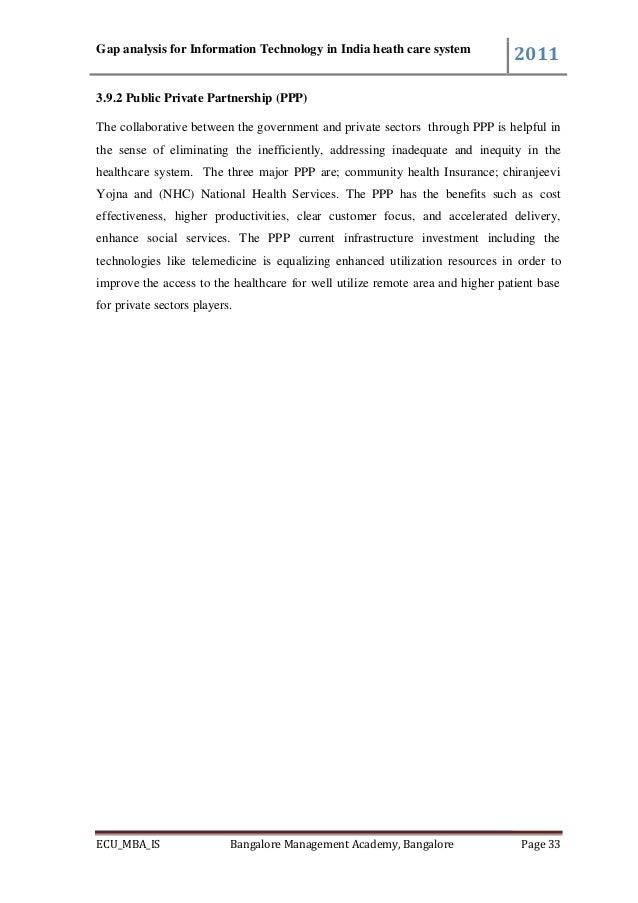 gap analysis in software application