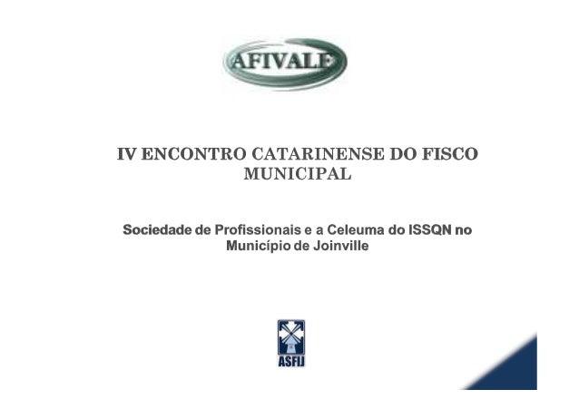 "2 IVENCONTROCATARINENSEDOFISCOMUNICIPAL UÄâÅxÇtâ "" CEBCGBECDG Miqueas Liborio de Jesus Auditor Fiscal do Município de Join..."