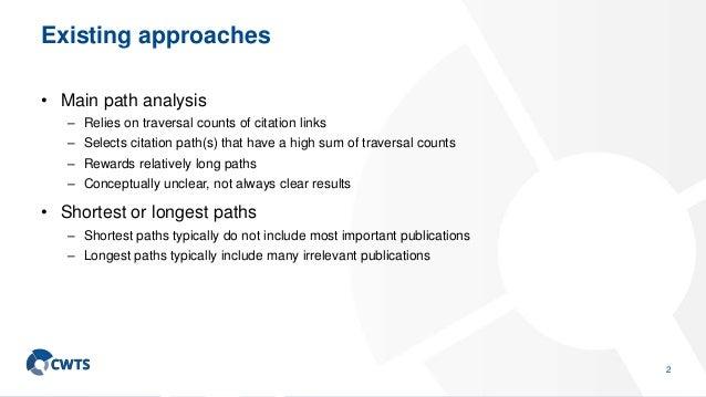 Intermediacy of publications Slide 3