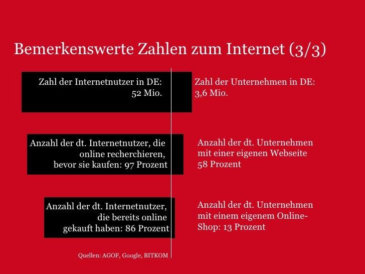 Bemerkenswerte Zahlen zum Internet (1/3)<br />Quelle: pingdom / comScore Media Metrix<br />