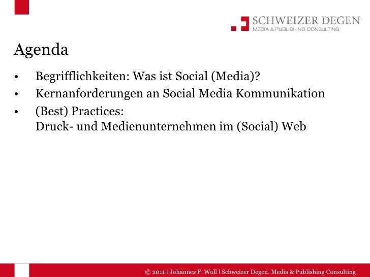 Agenda<br /><ul><li>Begrifflichkeiten: Was ist Social (Media)?