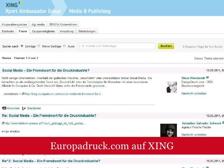 Werkstattbericht: Schreibenistblei. Druckenistgold<br />