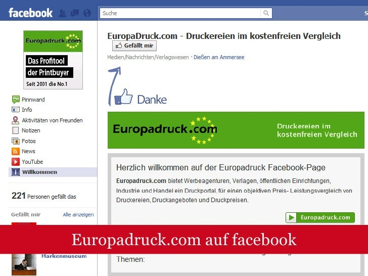 Europadruck.com Youtube-Kanal<br />