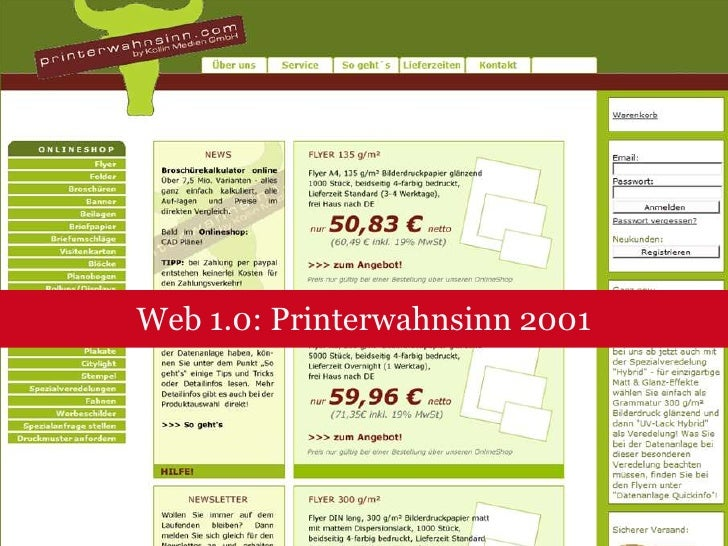 Web 2.0: Entwicklung des Mitmach-Webs<br />Quelle: Jesko Arlt<br />