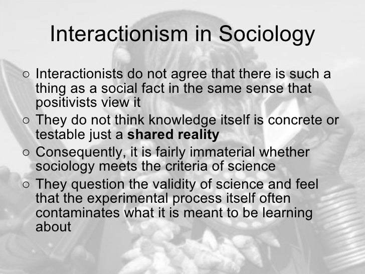 sociology cannot be a science Introduction to sociology/sociological methods from wikibooks, open books for an open world sociology construct measurements, and interpret data, objective or value free science are not possible rather, these theorists argued that the personal is political (eg.